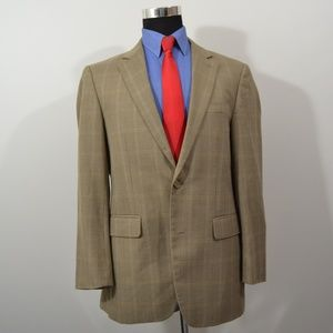 Andrew Fezza 38R Sport Coat Blazer Suit Jacket Lig